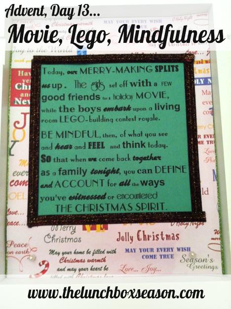 movie lego mindfulness