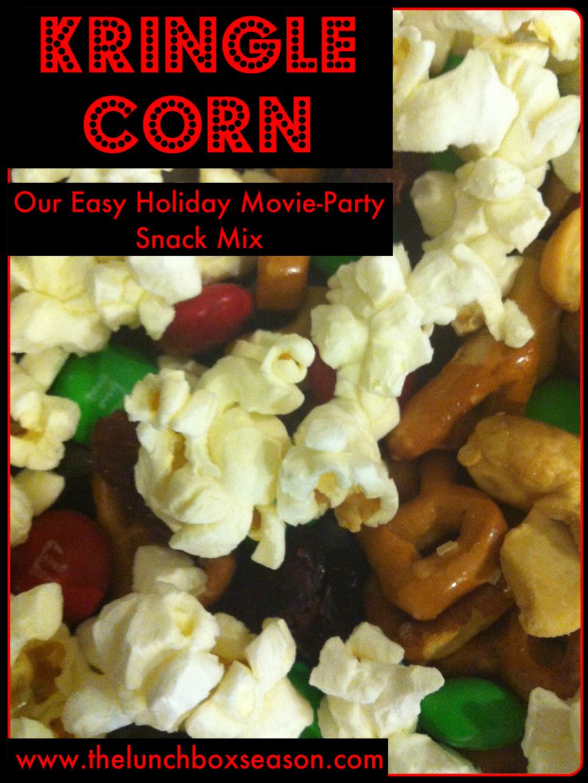 Kringle Corn Advent Recipe
