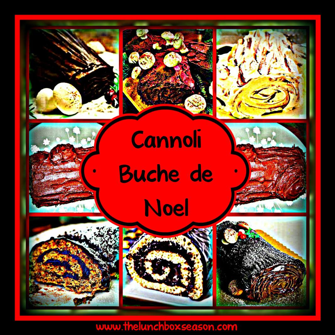 Cannoli Buche de Noel Recipe