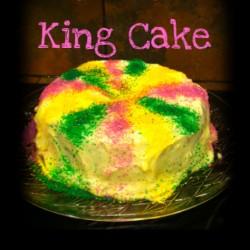 Carrot King Cake