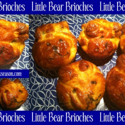 Little Bear Brioches Recipe and DIY from TheLunchboxSeason