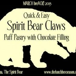 Quick & Easy Spirit Bear Claws
