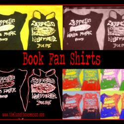 Book Fan Shirts from thelunchboxseason