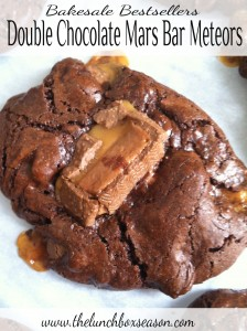 Bakesale Bestsellers III Double Chocolate Mars Bar Meteors