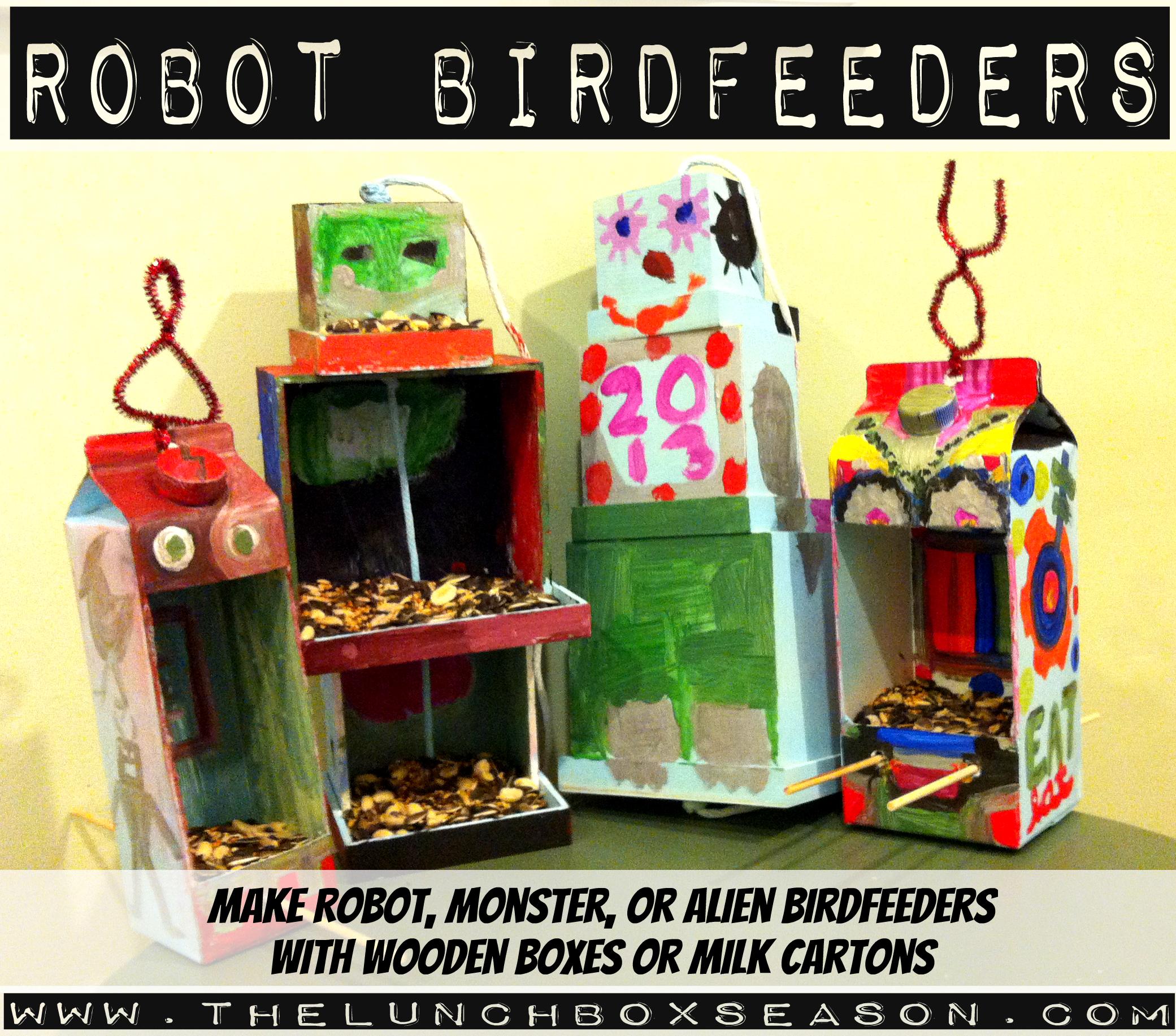 Robot Birdfeeders