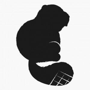 Beaver Silhouette