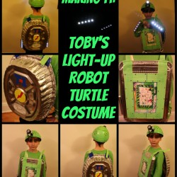 Light-Up Robot Turtle Costume