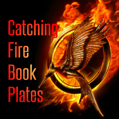 Catching Fire BookPlates Printable Tag