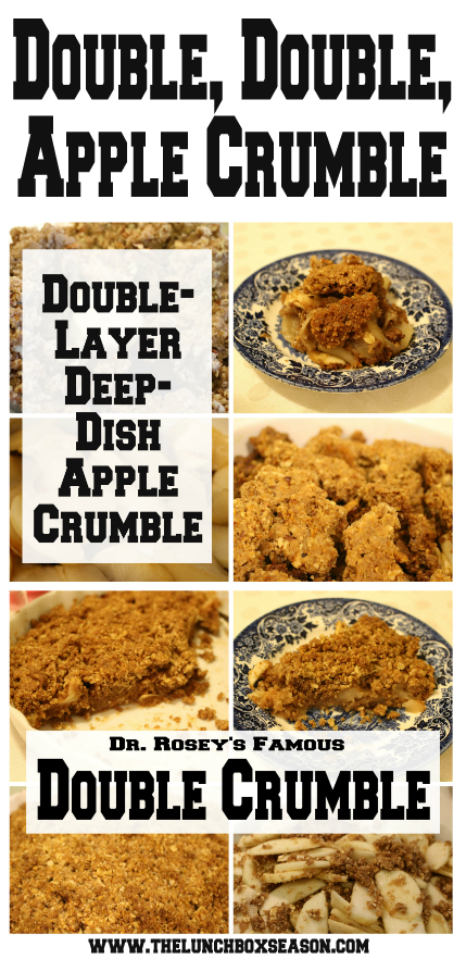 Double Double Apple Crumble from The Lunchbox Season