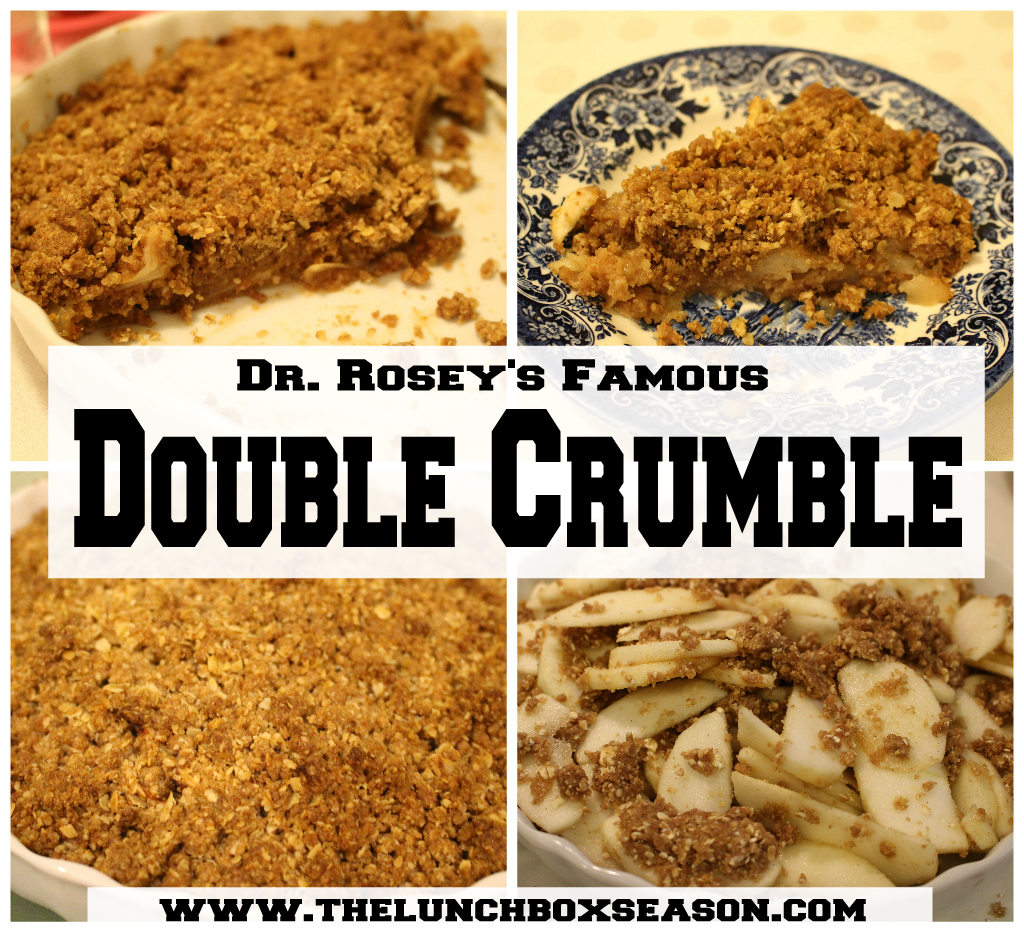 Dr. Rosey's Famous Double Crumble