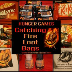 Hunger Games Catching Fire Loot Bags