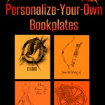Hunger Games Catching Fire Party Favours: Personalize Your Own Bookplates