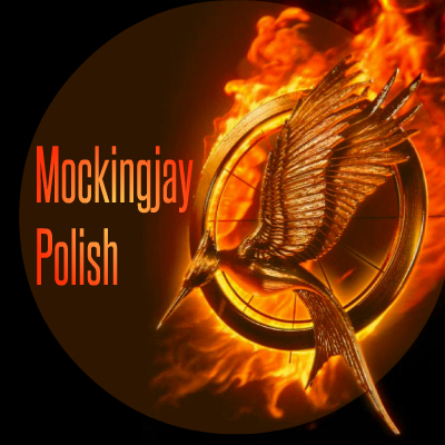 Mockingjay Nail Polish Printable