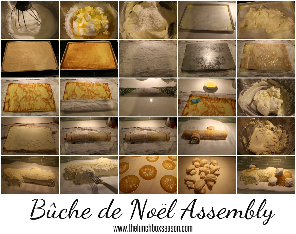 Buche de Noel Assembly from thelunchboxseason