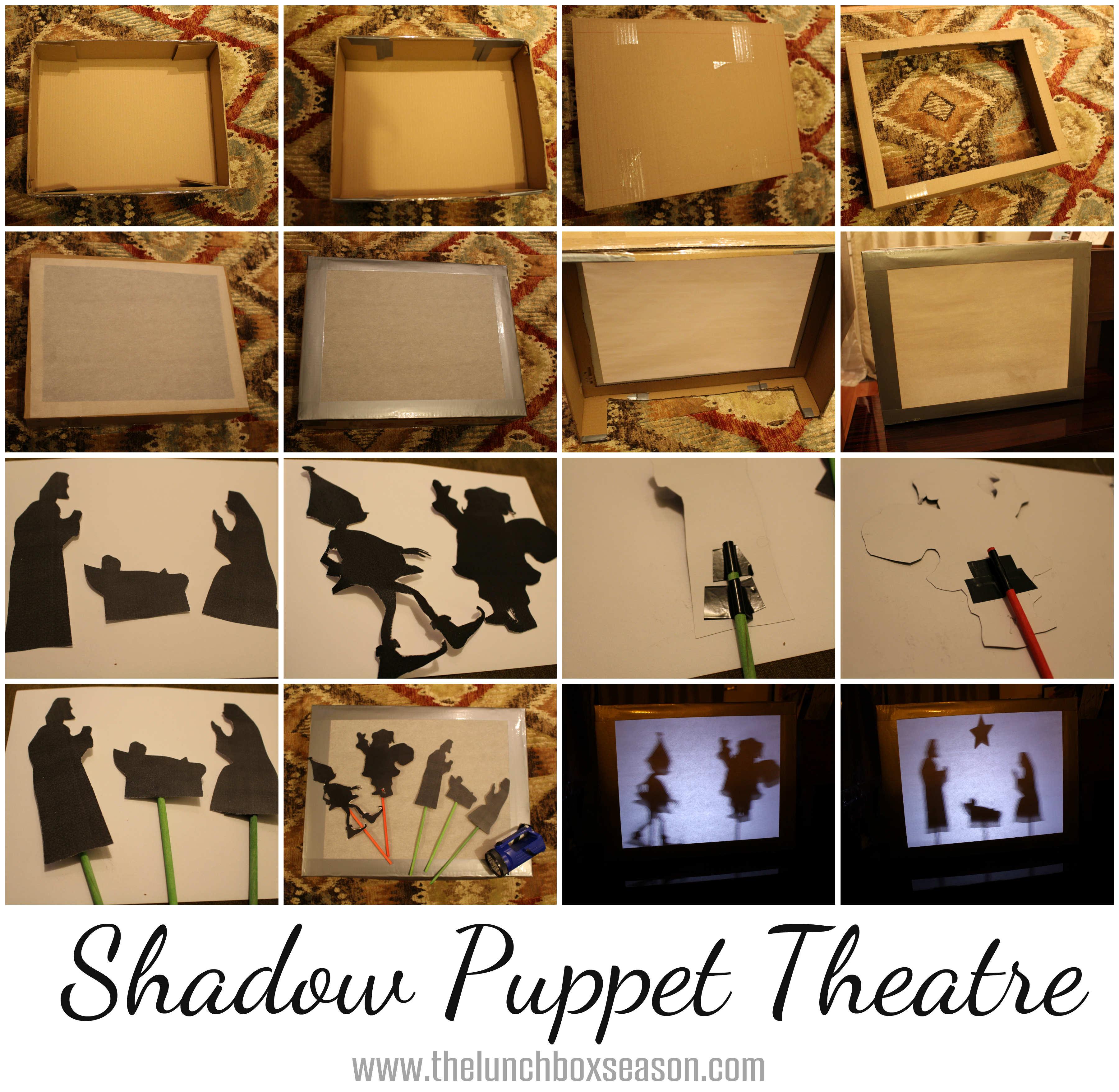 Театр теней своими руками в детском саду