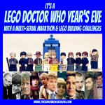 It's a Lego Doctor Who Year's Eve: Multi-Serial Marathon and Lego Building Challenges