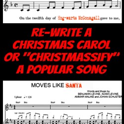 It's a Carol-Off!