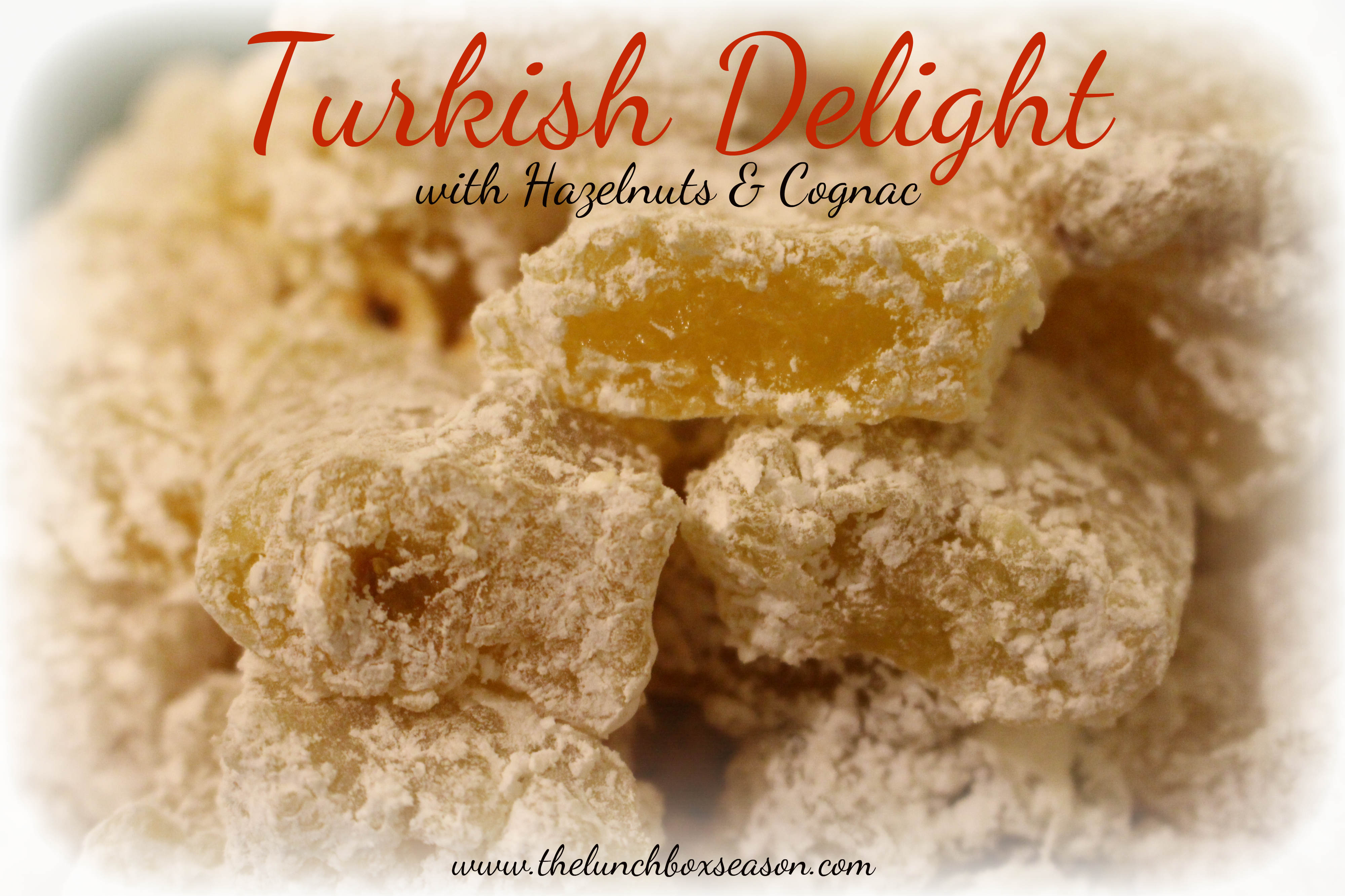 Turkish Delight Recipe from The Lunchbox Season