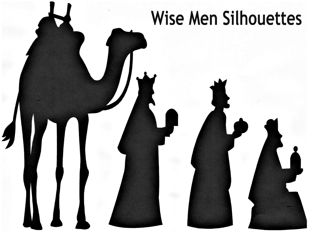 Wise Men Silhouettes