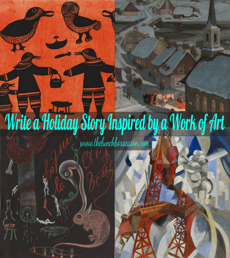 Write a Holiday Story Inspired by a fab work of art