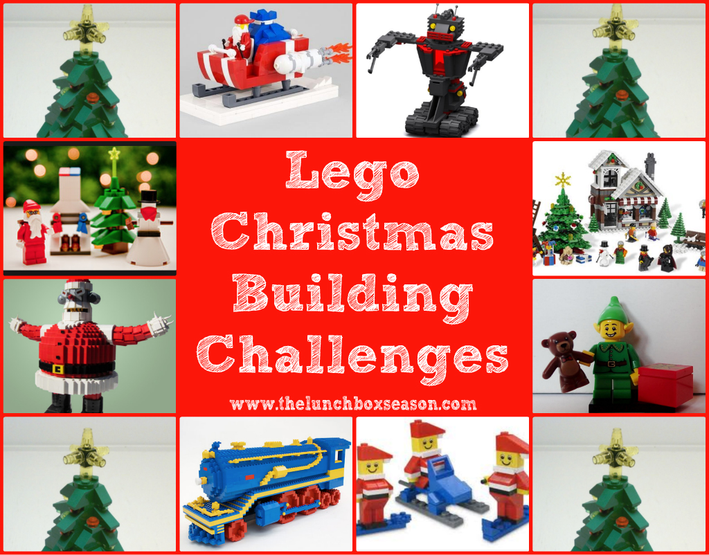 lego Christmas Building Challenges