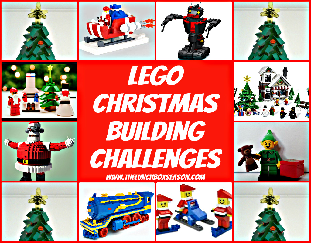 Design Your Own Car >> Family Advent Calendar, Day 7: Lego Christmas Party! Lego Christmas Building Challenges and Lego ...