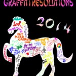 Year of the Horse: Graffiti Resolutions [Free Printable]