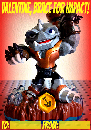 printable skylander valentine brace for impact rubble rouser from thelunchbox season