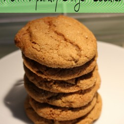 Soft Sparkly Ginger Cookies