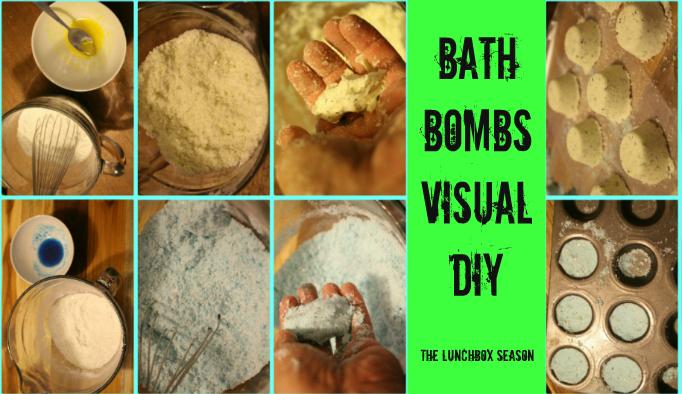 Bath Bombs Visual DIY