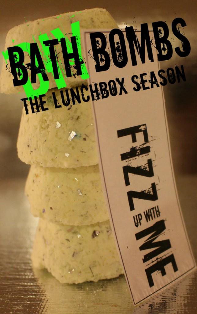 DIY Bath Bombs The Lunchbox Season