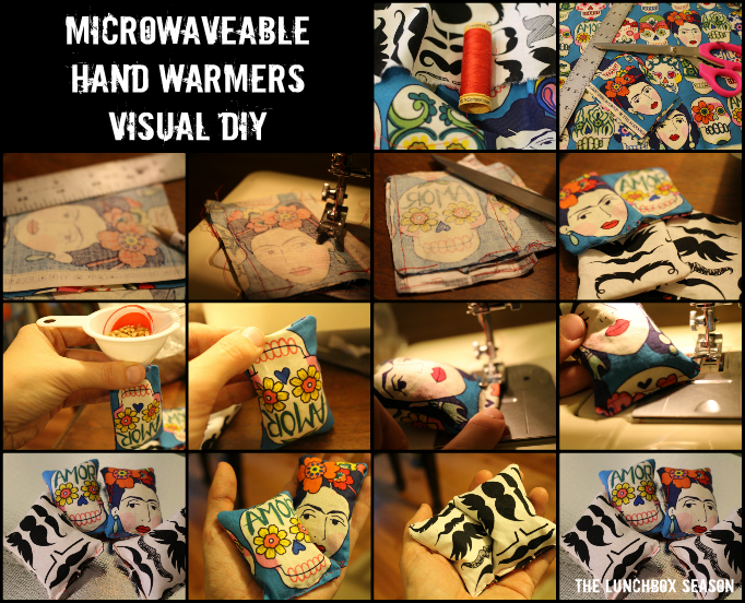 Microwaveable Hand Warmers Visual DIY