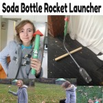 Paper Storm Trooper Rocket and Soda Bottle Rocket Launcher