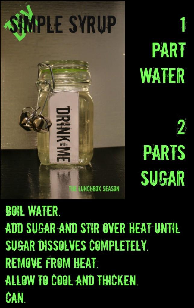 Simple Syrup DIY