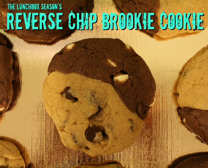 The Lunchbox Season's Reverse Chip Brookie Cookie