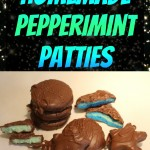 Cold Stars and Newly Minted Moons - Homemade Peppermint Patties - The Lunchbox Season