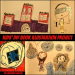 Kids DIY Book Illustration Project