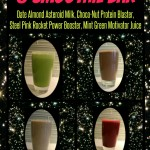 Space Party Juice & Smoothie Bar for Kids - Date Almond Asteroid Milk - Choco-Nut Protein Blaster - Steel Pink Rocket Power Booster, Mint Green Motivator Juice - Healthy Kids Recipes from The Lunchbox Season