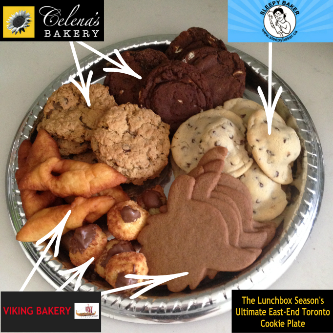 TLBS Ultimate East End Toronto Cookie Plate
