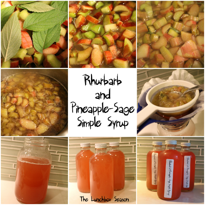 how to make pineapple simple syrup