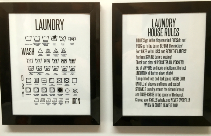 Our Laundry Signs The Lunchbox Season