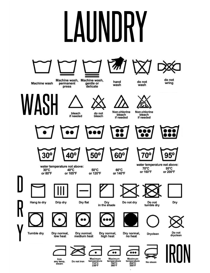 The Lunchbox Seasons Laundry Signs Free Printable Please
