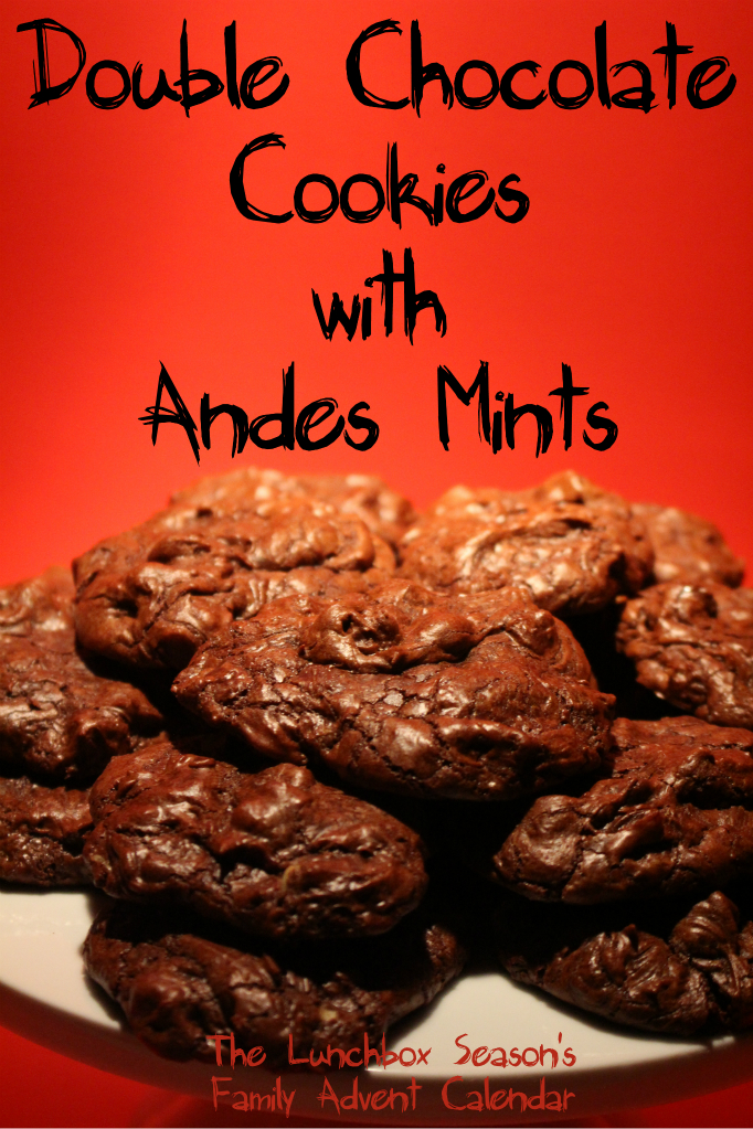 double-chocolate-cookies-with-andes-mints-family-advent-calendar
