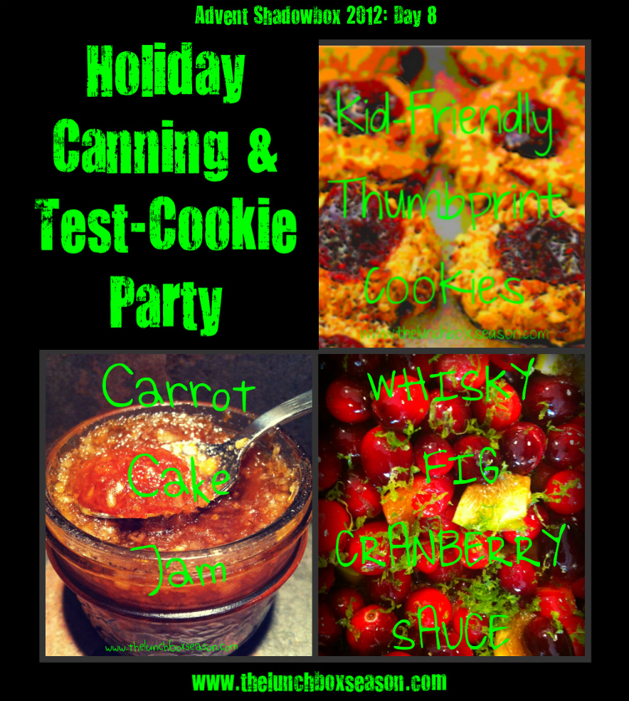 holidaycanning&Test-cookie party