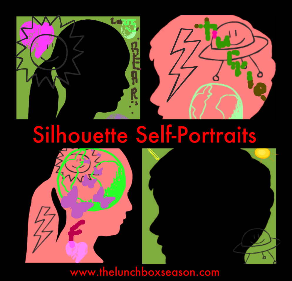 silhouette self-portraits