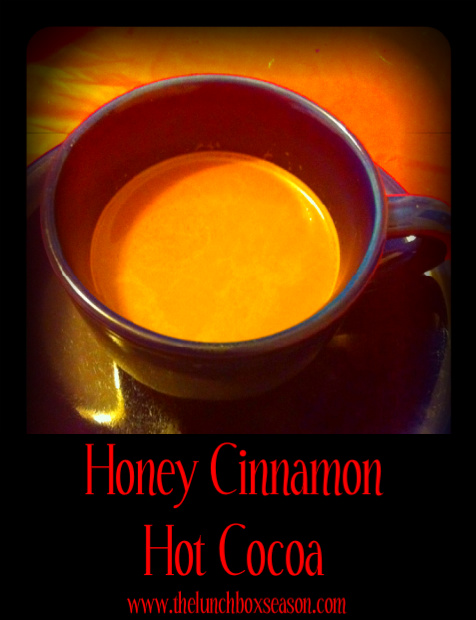 Honey Cinnamon Hot Cocoa