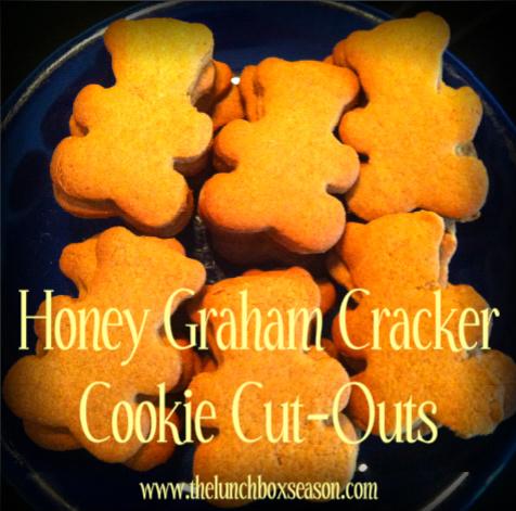 honey graham cracker cookie cutouts