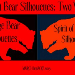Spirit Bear Silhouettes Header