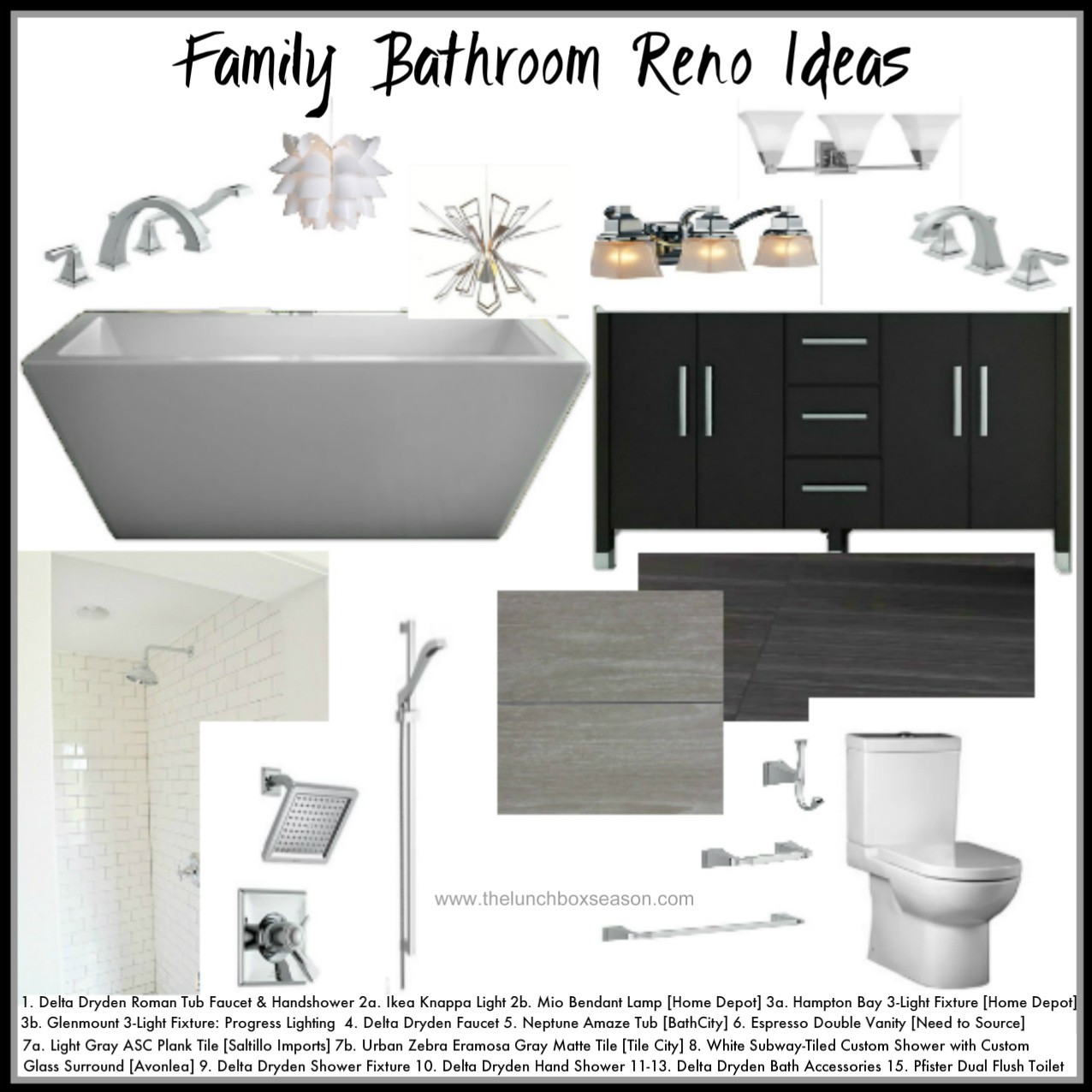Family Bathroom Reno Ideas from thelunchboxseason dot com