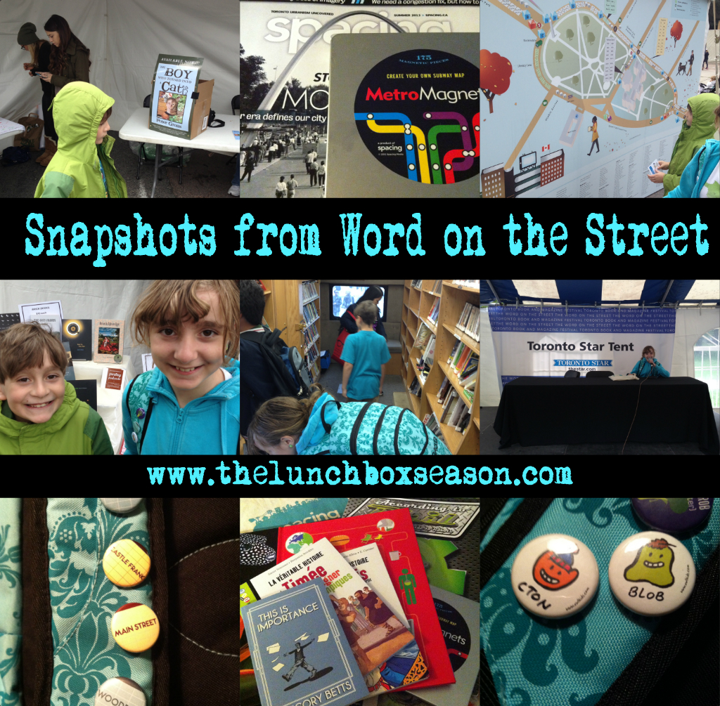 Snapshots from Word on the Street